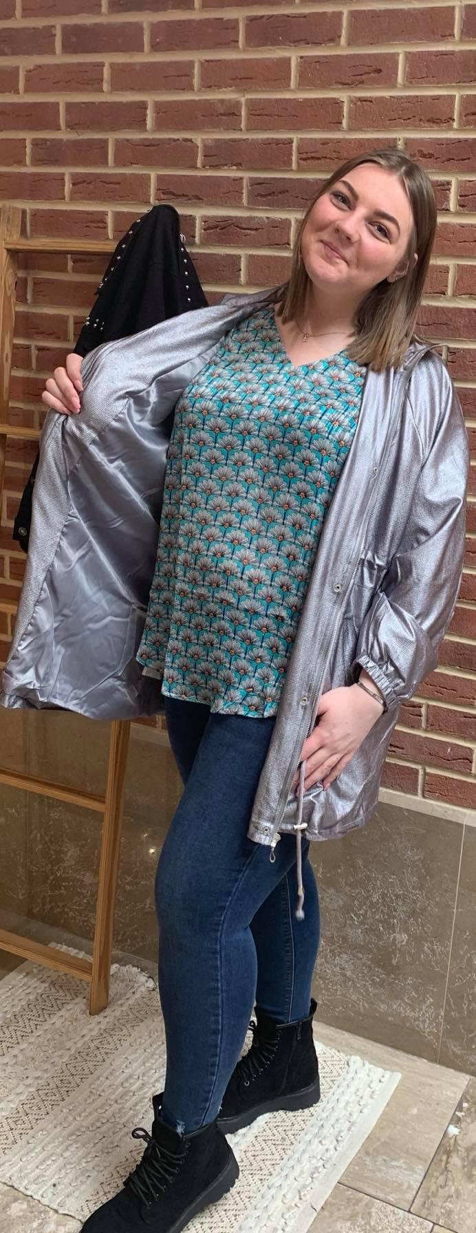 blouse motifs éventails  - BLO_MOT_EVE
