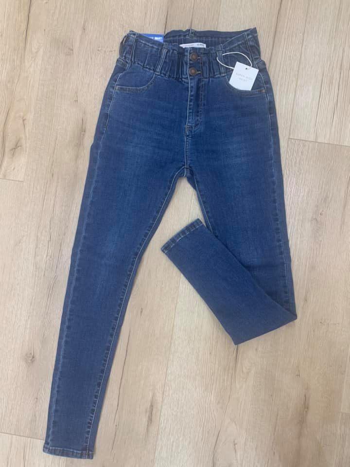 Jean taille élastique  - Jea-tai-éla
