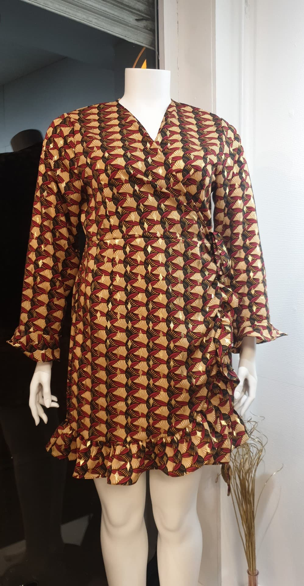 robe kimono orange  - RB_KIM_ORA