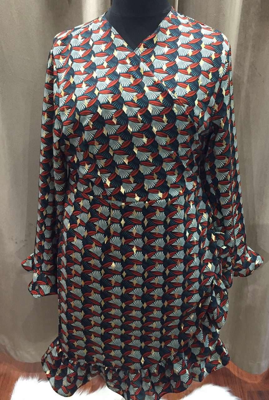 robe kimono verte - ROB_KIVER
