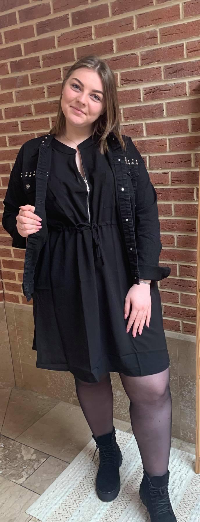 robe noir zip - ROB_NOI_ZIP