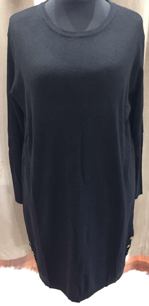 robe pull noir - ROB_PUL_NOI_GT