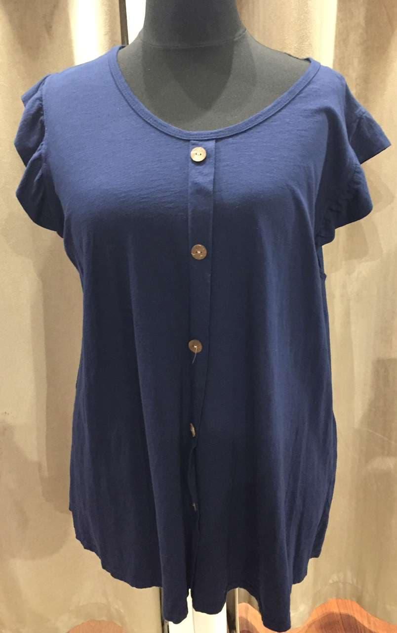 tee-shirt simple bleu - TSH_SIMPLE_BLEU