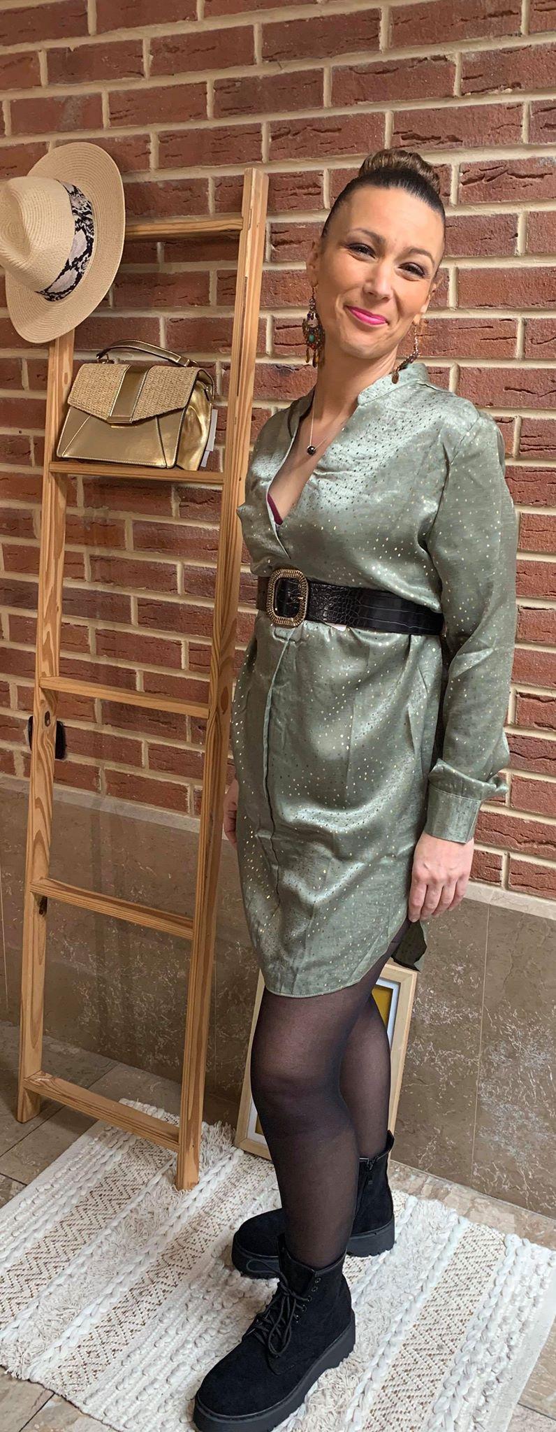 Tunique robe  - TUN_ROB_VER_DOR