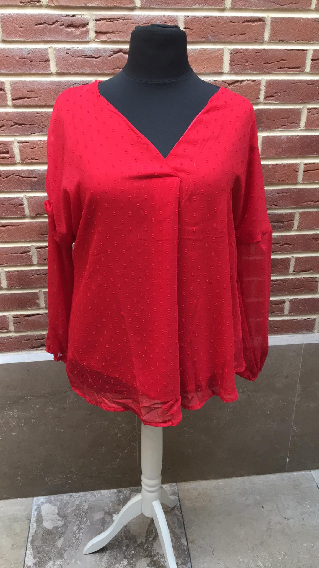 blouse rouge - blou-rou-gt