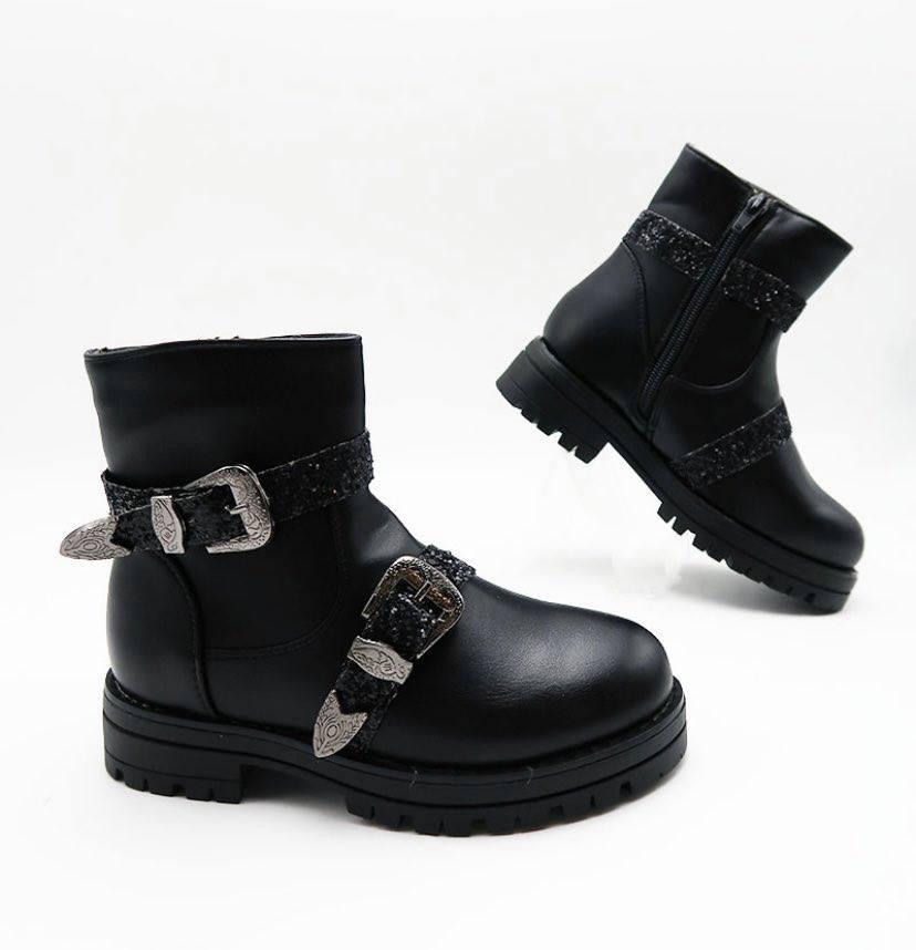 boots boucles enfant - boo-bou-enf