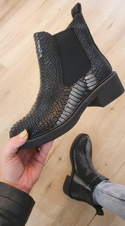 boots croco silver - boo-cro-sil