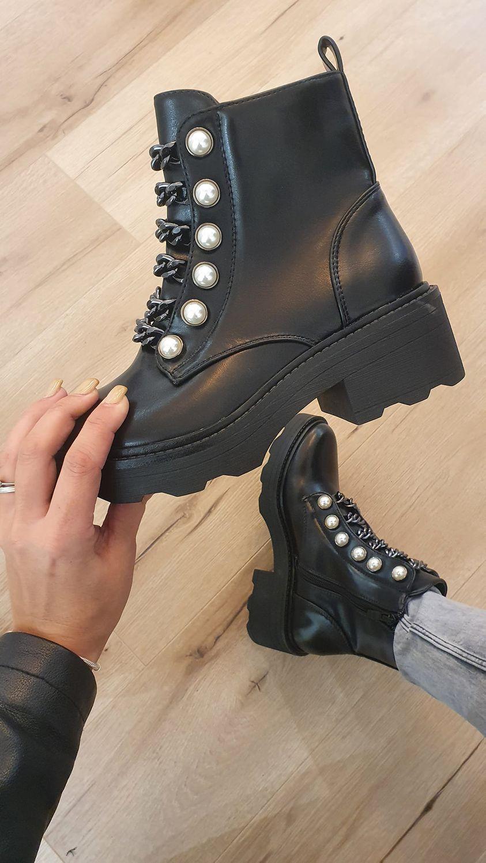 boots perle et chaine - boo-per-et-cha