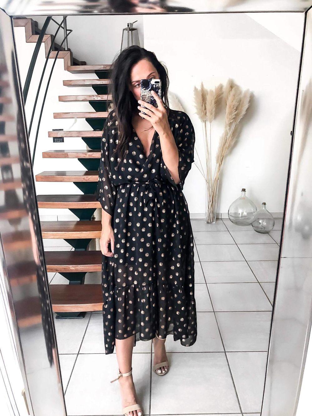 robe longue or - fourmi