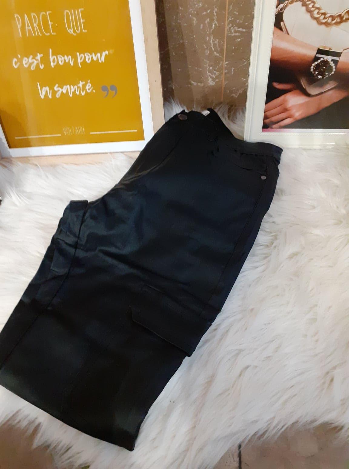 jean huilé noir poche - jea-hui-poc