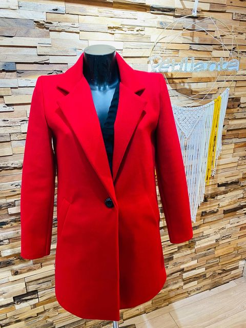 manteau classique rouge - man-cla-rou