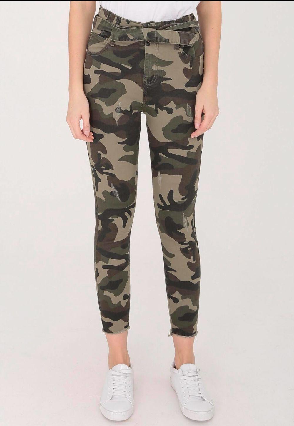 jean militaire ceinture - mili