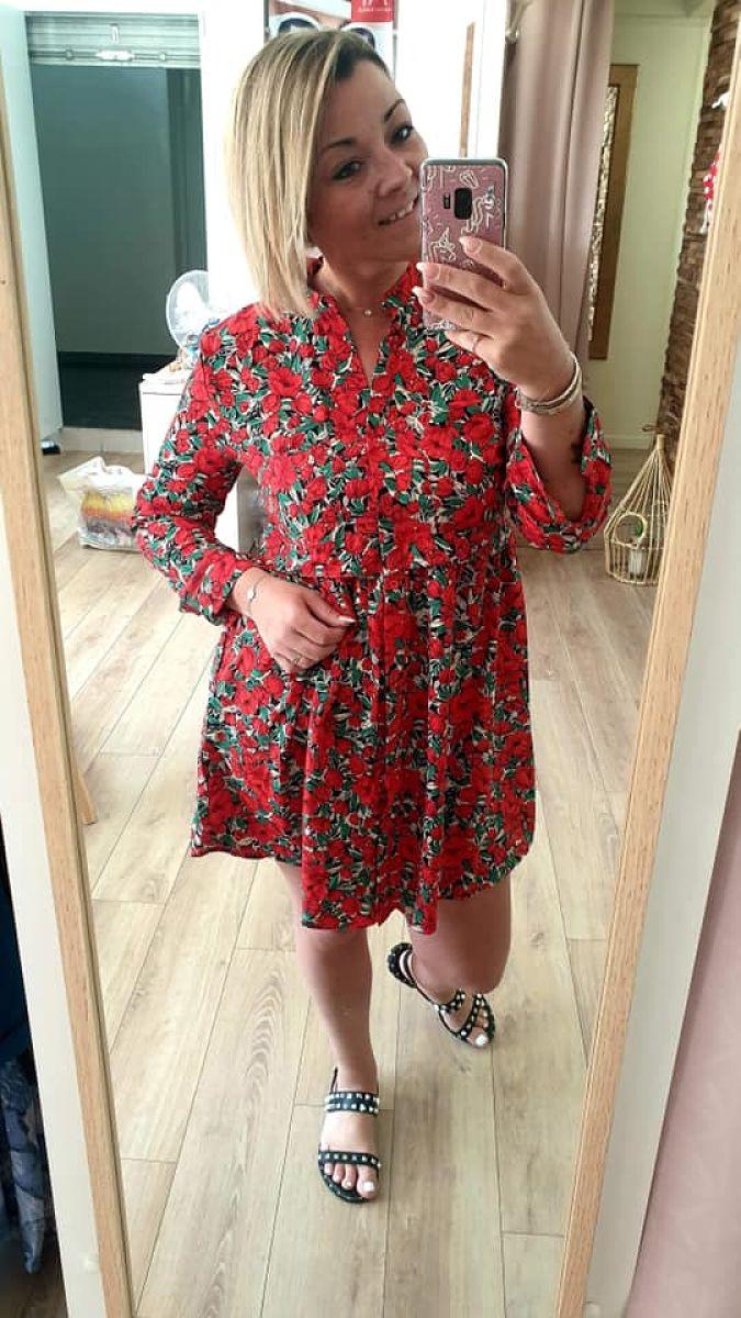 chemise fleurs - myriam
