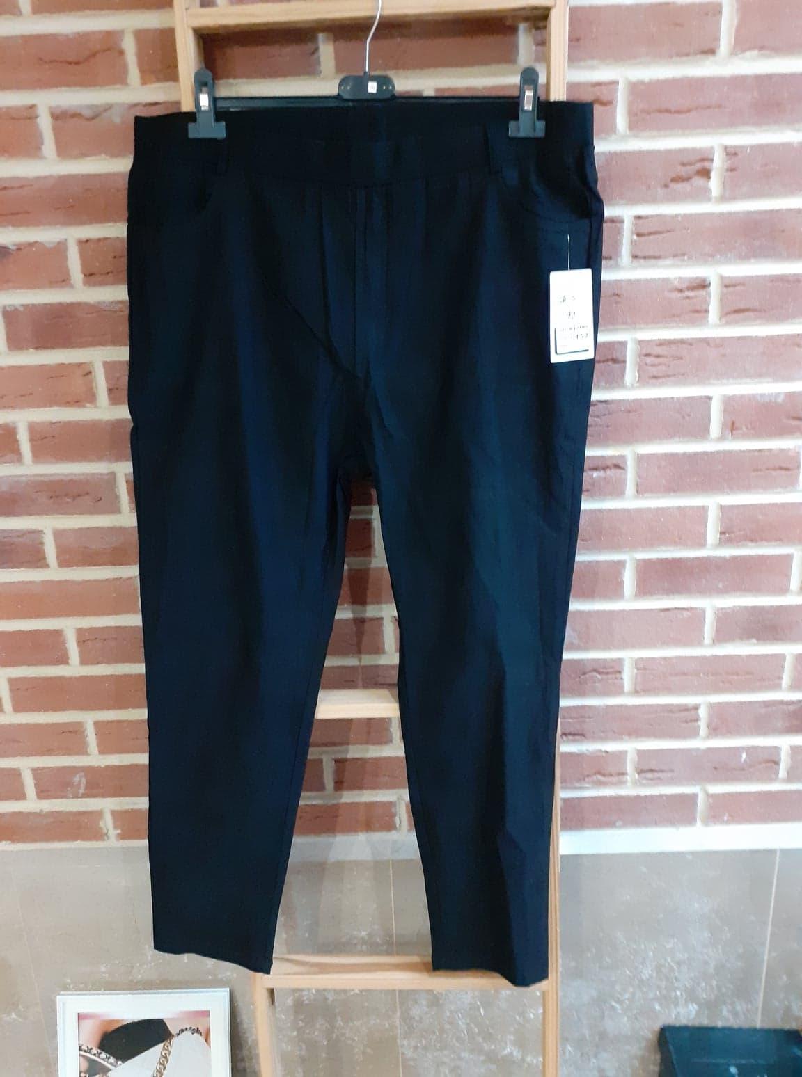 Pantalon huilé noir new - pan-hui-noi-new-co