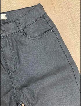 pantalon python noir - pan-pyt-noi
