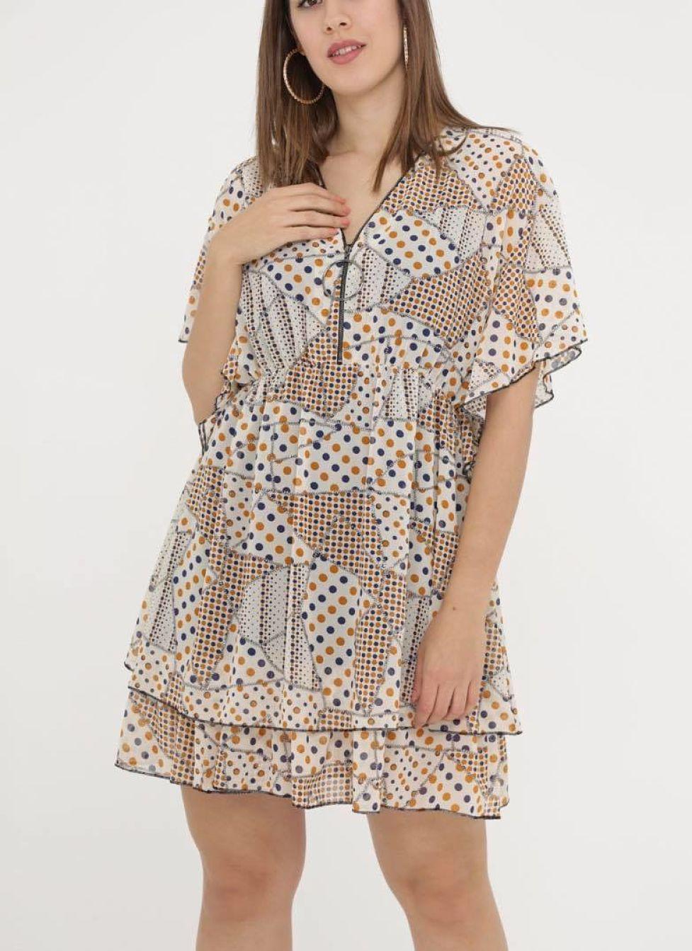 robe à pois - poisrobe