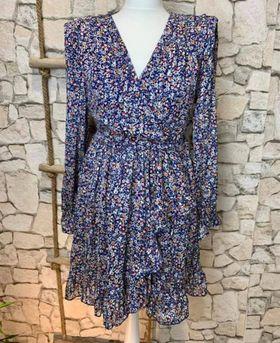 robe bleu fleuri - rob-ble-fle