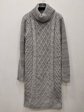 robe pull maille laine  - rob-pul-mai-lai