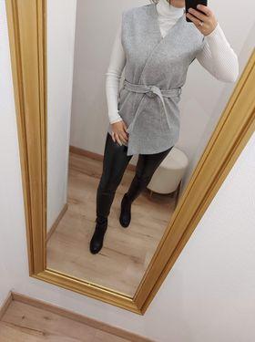 veste sans manche courte grise  - ves-san-man-cou-gri