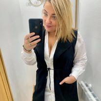 veste sans manche longue noir - ves-san-man-lon-noi